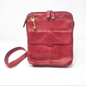 Fossil | Red Crossbody Bag               U3-109-18